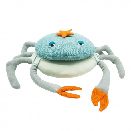 COUSSIN CRABE GRAND Chiné
