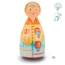 LAMPE MUSICALE - MONTGOLFIERE