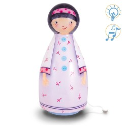 LAMPE MUSICALE - GAMINE PARME